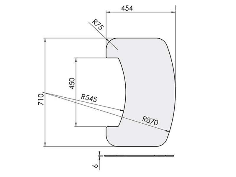 ガラスフロアプレート TT80シリーズ